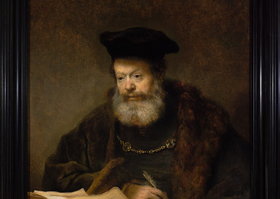 © The Royal Castle in Warsaw - Museum, A Scholar at his Writing Table, The Lanckoroński Collection - Rembrandt's Paintings