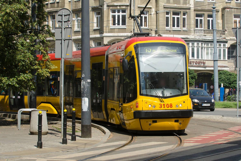 Tramway in Warsaw, © Jarek Zuzga/oknonawarszawe.pl