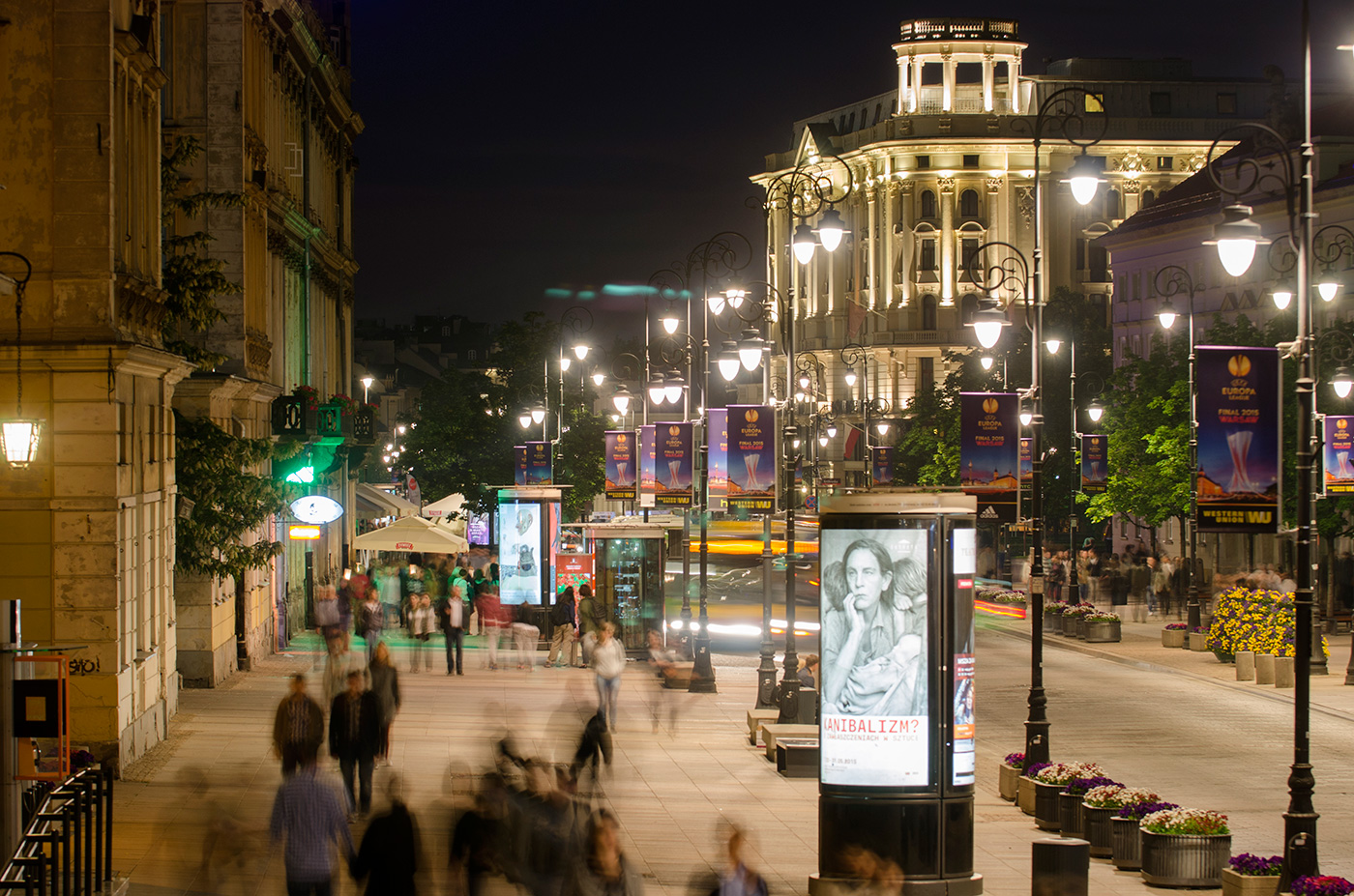 Warsaw by night, © Jarek Zuzga, oknonawarszawe.pl