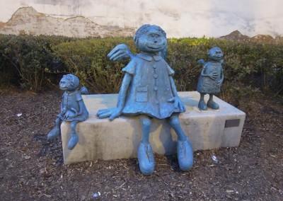Warsaw Street Art, Angels Praga, Marek Sułek, photo: Magda Liwosz