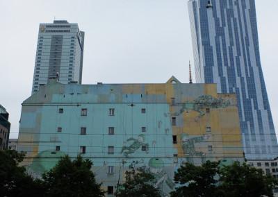 Warsaw Street Art - Blu,  photo: Jarek Zuzga / oknonawarszawe.pl
