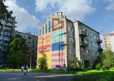 Warsaw Street Art - Eltono,  photo: Jarek Zuzga / oknonawarszawe.pl