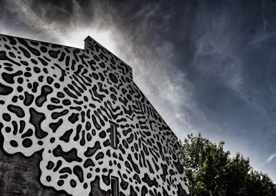 Warsaw Street Art - NeSpoon, photo: Jarek Zuzga / oknonawarszawe.pl