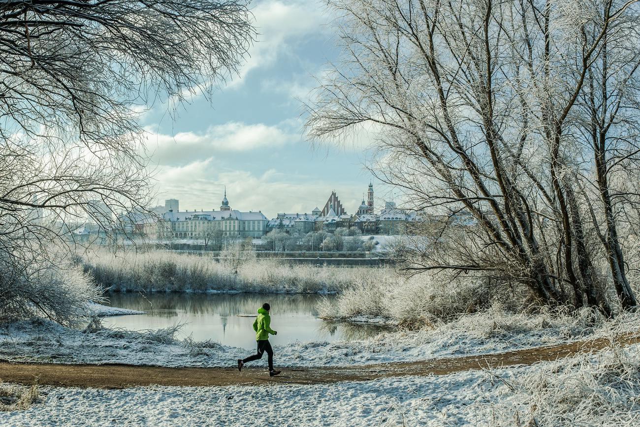 Warsaw winter sporting activities, fot. Filip Kwiatkowski, www.warsawtour.pl