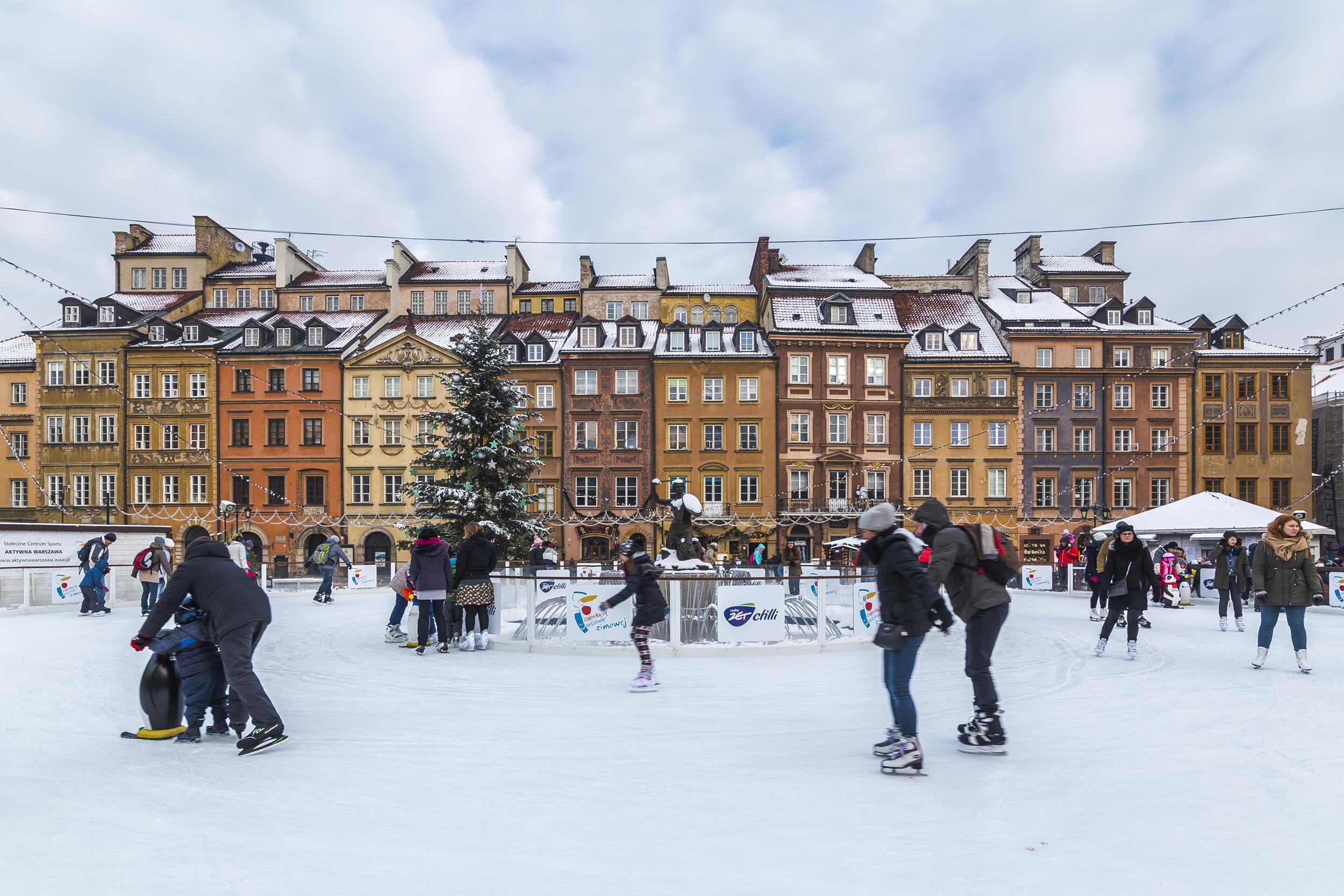 Enjoy Winter Outdoor Sporting Activities In The City