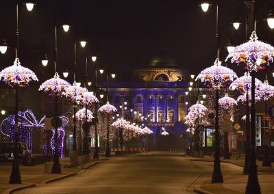 Warsaw Christmas illuminations, fot. Zbigniew Panów, PZ Studio, www.warsawtour.pl