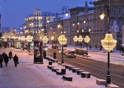 Christmas illuminations_Krakowskie Przedmieście_PZ Studio_www.warsawtour.pl (Copy)