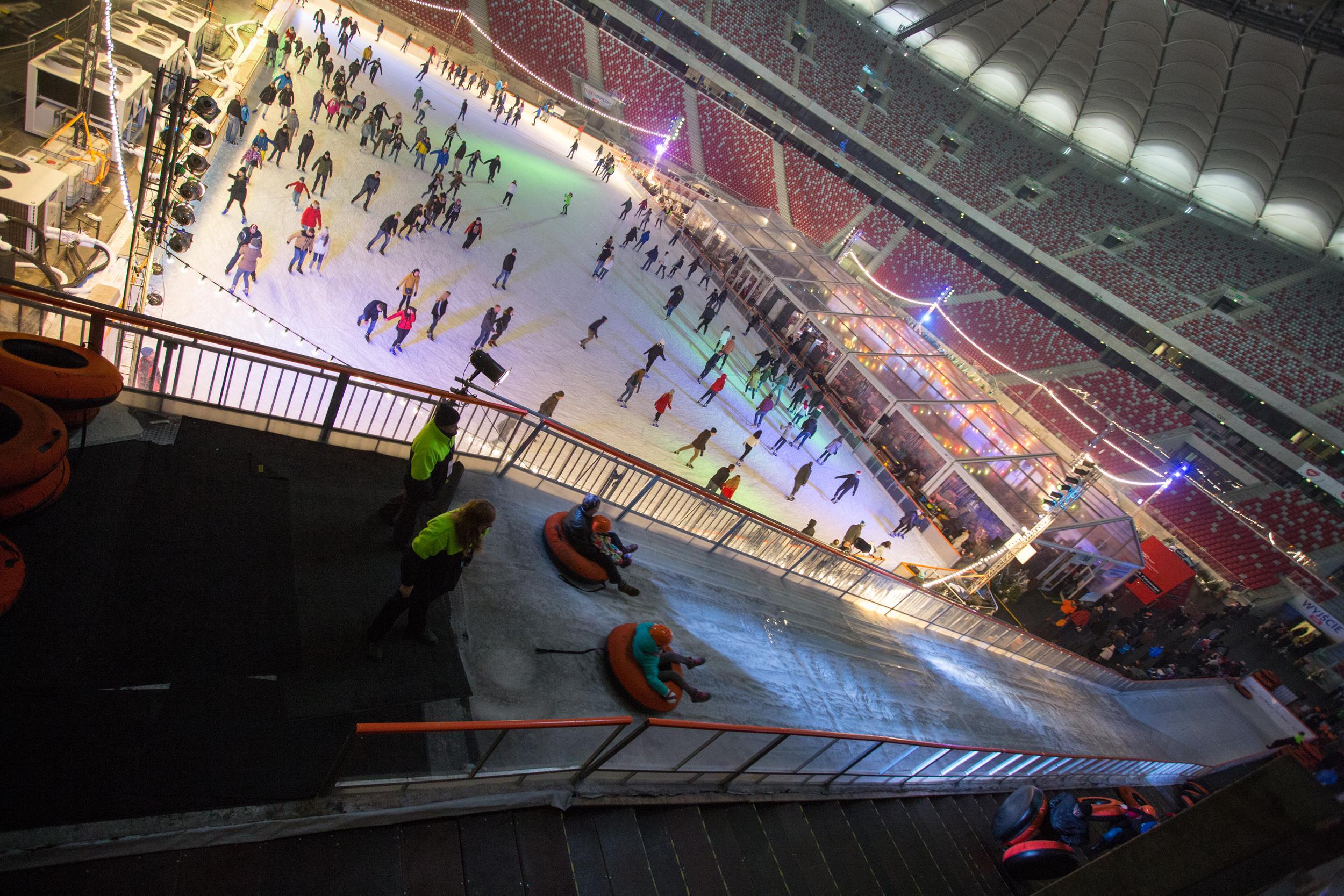 National Stadium Winter