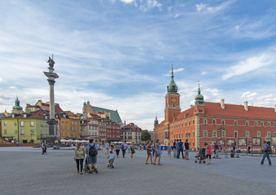 Plac Zamkowy. // Castle Square.