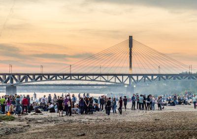 Pla¿a nad Wis³¹. // Beach on the Vistula river.