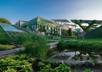Roof gardens – attraction of the University of Warsaw Library
