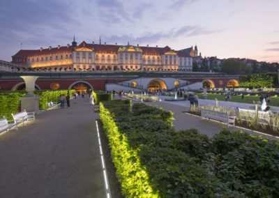 The Royal Castle in Warsaw and Royal Garden